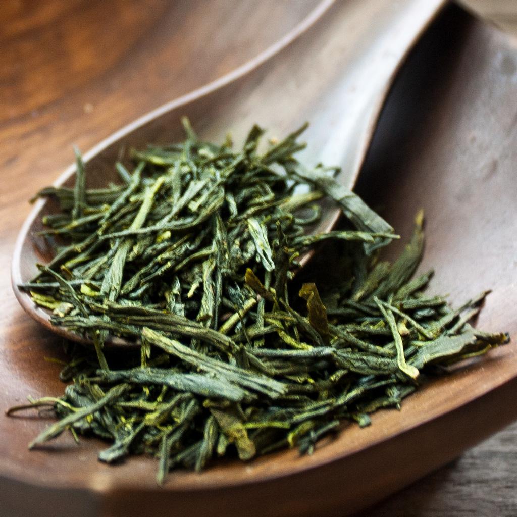 aufgießen grüner tee