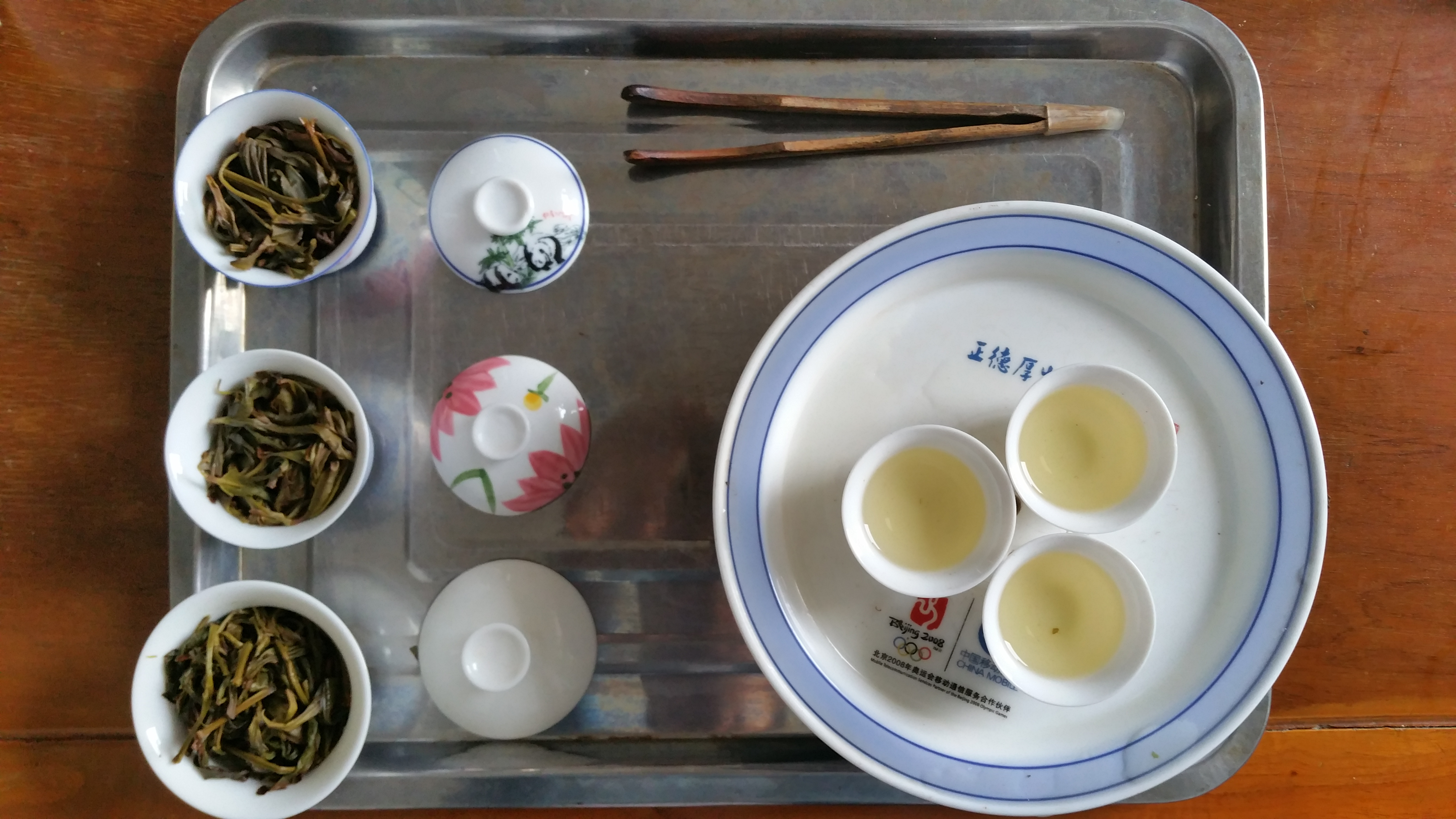 Chaozhou style tea tasting