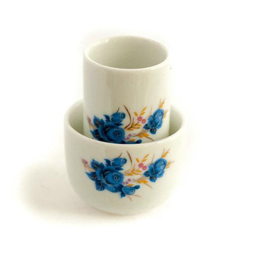 Gongfu Set Blaue Rose