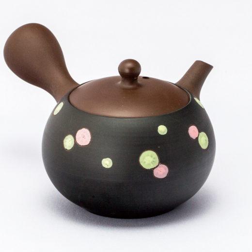 Japanische Kyusu Teekanne Sunju