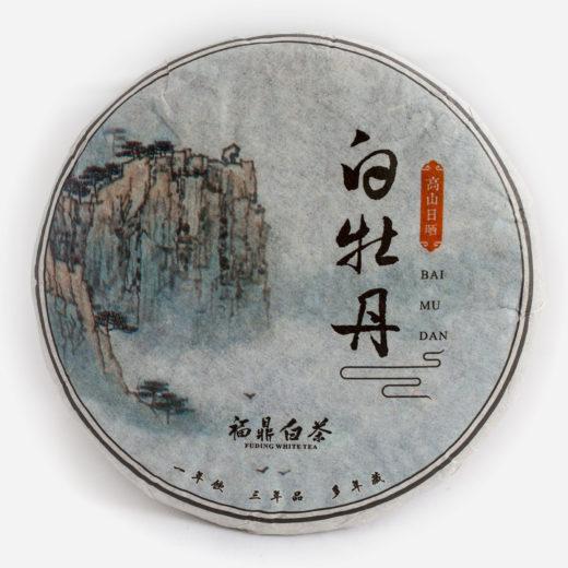 Bai Mu Dan cake