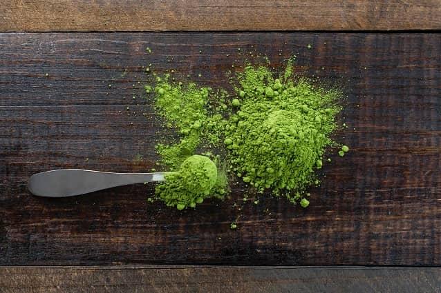 Geschäft Grüner Tee