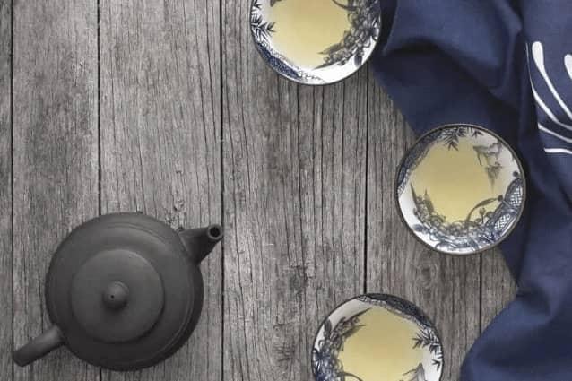 Geschäft Pu-Erh Tee